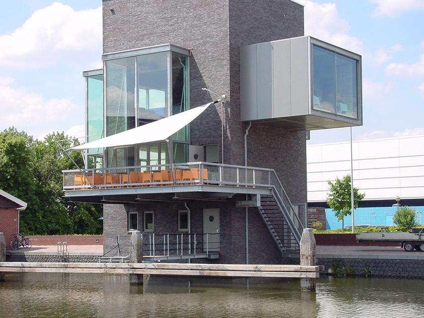Restaurant de Veiling   MSK SUNSQUARE   ARCHITECTUUR VOOR DE SCHADUW